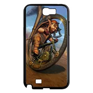 Samsung Galaxy N2 7100 Cell Phone Case Black Ccrazy Wheel Race SUX_879770