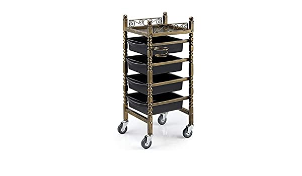 Amazon.com : MJHY Beauty Salon Car Salon Trolley Barber Shop Salon Special Purpose Hot Dyeing Tool Car Multi-Function Bar Car Retro : Beauty