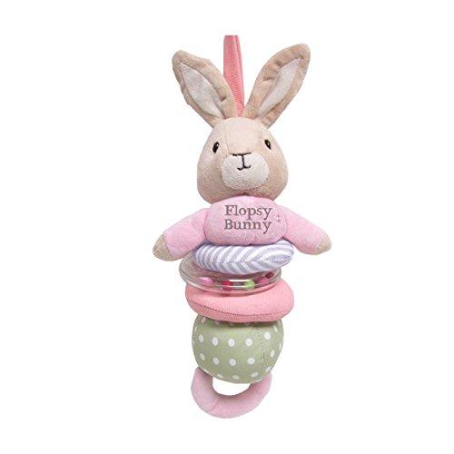 Beatrix Potter Flopsy Bunny Plush Jiggle Toy, 12.5