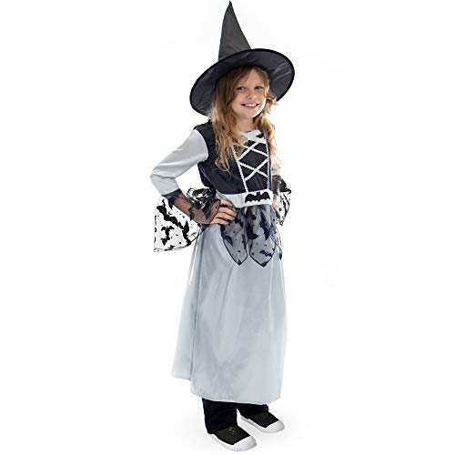 Boo! Inc Bewitching Witch Children's Halloween Costume | Girl's Fairy Tale Outfit, L
