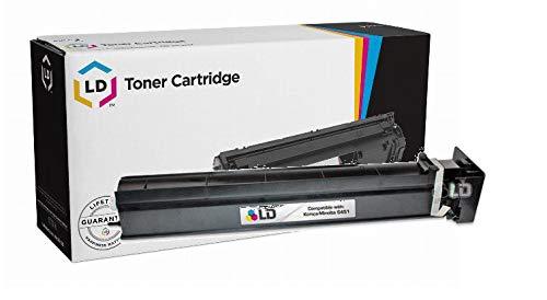 LD Compatible Toner Cartridge Replacement for Konica Minolta Bizhub C451 TN411K (Black)