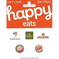 $50 Happy Gift Card (Panera, Cold Stone, Dave & Busters & more)