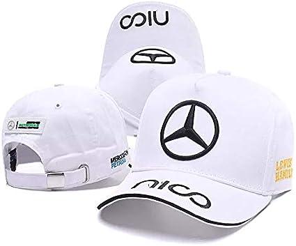 Westion Benz Logo Motorsport Hat F1 Formula Racing Baseball Caps for Men and Women red