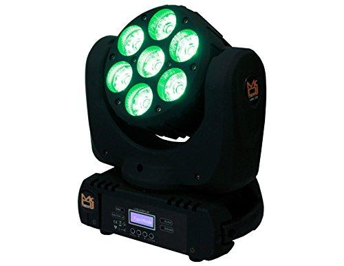 Mr. Dj LMH700 4-in-1 RGBW LED Beam Wash Lamp Moving Head Light DJ Show Stage Lighting