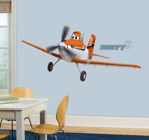 Hopper Decal (Roommates Rmk2289Gm Planes Dusty Crophopper Peel And Stick Giant Wall Decals, 1-Pack)