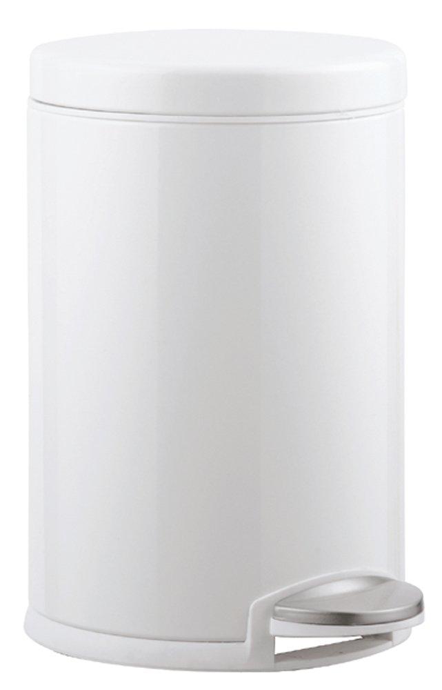 simplehuman ダストボックス ミニラウンドステップカン 4.5L ホワイト CW1853 B00B67NAQ2