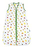SlumberSafe Muslin Summer Baby Sleeping Bag 0.5 Tog Forest Friends 6-18 Months