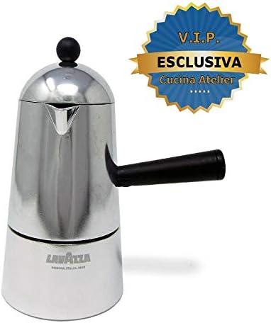 ILSA Lavazza Carmencita Cafetera de aluminio, Moka para expreso, 1 ...