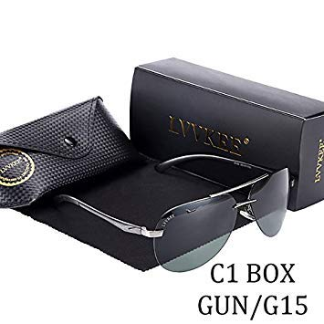 65029fb738c3 LVVKEE 2017 hot Rays Aviation Sunglasses Men Classic Navy Air Force  Sunglasses Online Sale HD Vision Hipster Men Sunglasses gg  Amazon.in   Beauty