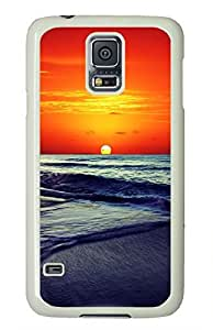 White Fashion Case for Samsung Galaxy S5,PC Case Cover for Samsung Galaxy S5 with En Cordoba