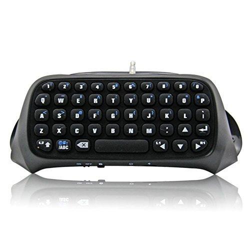 booEy Bluetooth Mini teclado controlador para PS4 Playstation 4 Teclado chat inalámbrico: Amazon.es: Videojuegos