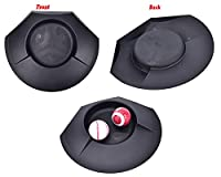 buytra Golf Putting Cups Set of 3, Plastic Golf Practice Training Cups for Beginners, Ideal for Practicing in House or Office, Indoor and Outdoor Use