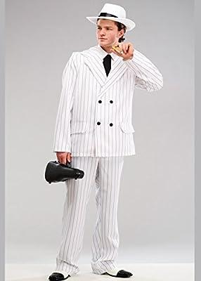 Magic Box Traje de Traje de gángster Blanco de los años 20 para ...