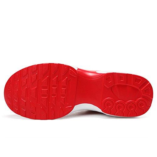 Les Course Cours En Jogging Fitness Chocs D'excution Kashiwu Lgres Chaussures Unisexe Formateurs Sports Formateur De Absorbant Gym Rouge Air wnqvRI0