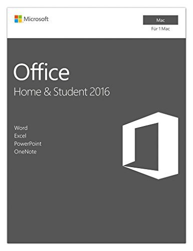 Microsoft Office Mac Home and Student 2016 [Mac Online Code]