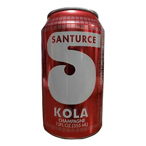 SANTURCE Kola Champagne - Puerto Rico's Original Kola Champagne - 12 oz cans - 8 Pack