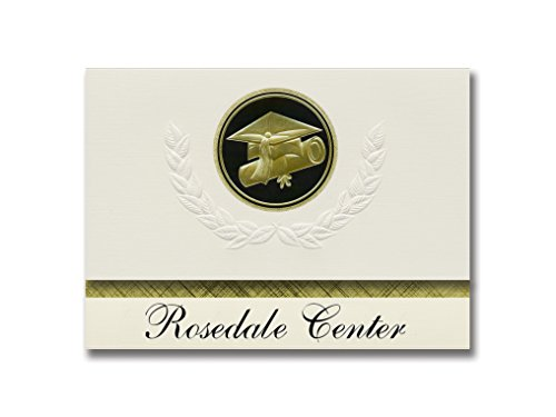 Signature Announcements Rosedale Center (Baltimore, MD) Graduation Announcements, Presidential style, Basic package of 25 Cap & Diploma Seal. Black & ()