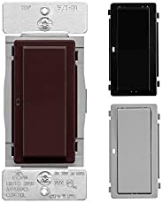Eaton WFSW15-C7-SP-L Wi-Fi Smart Switch Works with Alexa, Color Change Kit (Brown/Black/Gray) – A Certified fo