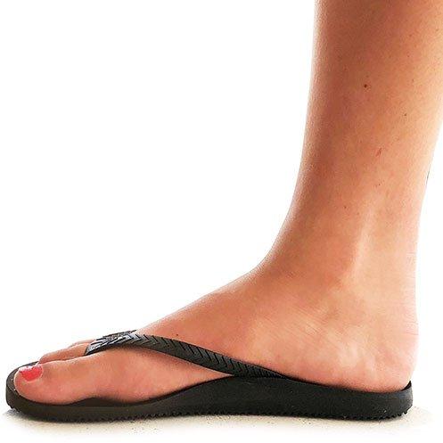 FOOTACTIVE Tongs orthop/édiques Tiki Girl Soyez Bien et sentez-Vous Bien de Tiki Girl!
