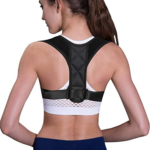 Posture Corrector Spinal Support - Physical Therapy Posture Brace for Men or Women - Back, Shoulder, and Neck Pain Relief - Posture Trainer (Best Back Brace For Posture Correction)