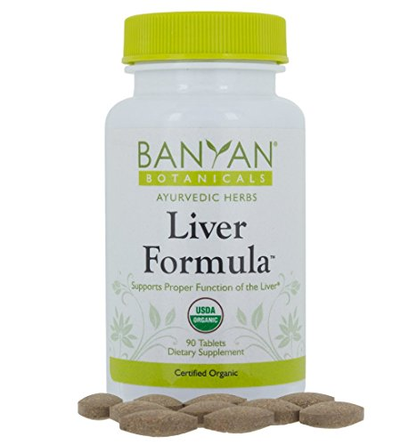 Banyan Botanicals Liver Formula - USDA Organic, 90 tablets - Cleansing Bitter Herbs to Detoxify the Liver & Gallbladder*