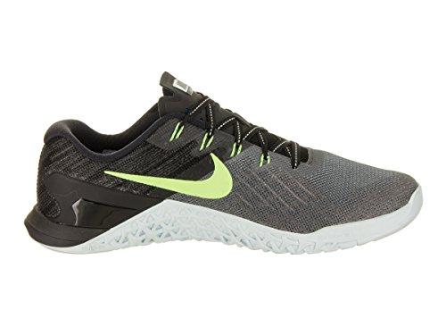Nike Womens Metcon 3 Scarpe Da Allenamento Grigio Scuro / Verde Fantasma