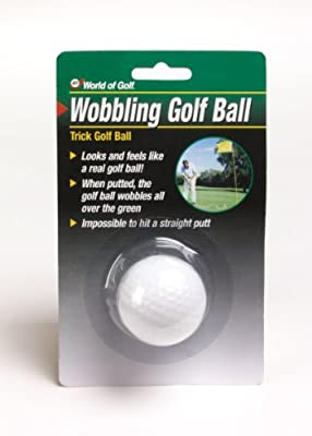 Jef World of Golf Gifts and Gallery, Inc. Wobbling Golf Ball (White)