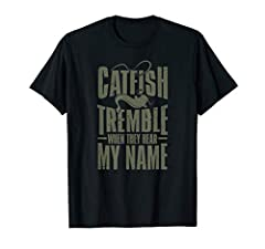 If you are channel cat angler and you love angling this will be a great shirt for you to wear. People who like trolling will like this fantastic sea catfish shirt.Get your fishing rods, coolers and stinky lures and enjoy the peace and quiet w...