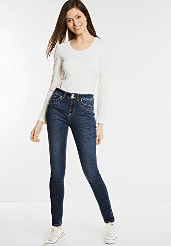 jeans street one 370667 yoko bleu