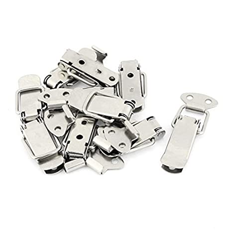 10sets Cierres Toggle tono de plata 4 mm Diámetro del resorte cargados - - Amazon.com