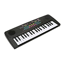 Piano for Children, aPerfectLife Multi-function 37 Key Electronic Organ Music Keyboard Small Electronic Keyboard Piano Organ Musical Teaching Keys Keyboard Toy With Microphone For Kids Children Gift