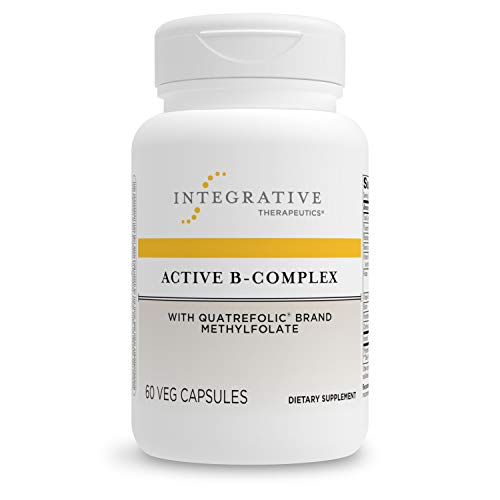 Integrative Therapeutics – Active B-Complex – Energy Production*- with 8 B-Vitamins, Vitamin B12, Folate, Choline – 60…