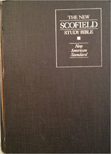 Amazon com: New Scofield Study Bible: New American Standard Bible