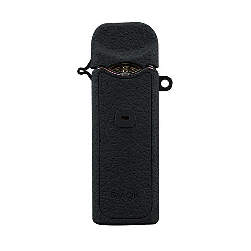DSC-Mart Texture Case for Smok Nord Kit Box Mod Protective Silicone Rubber Sleeve Cover Shield Wrap (Standard Black)