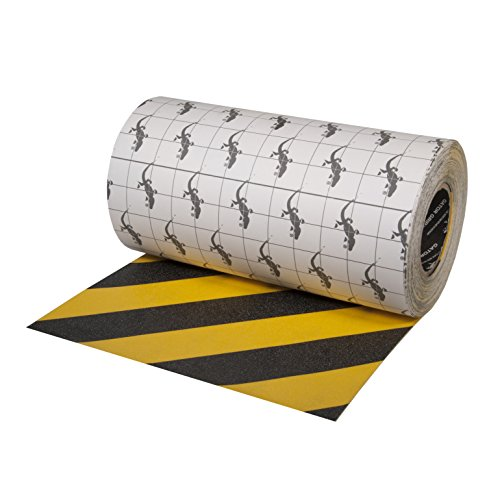 Gator Grip: Anti-Slip Tape, 12'' x 60', Yellow/Black by Gator Grip