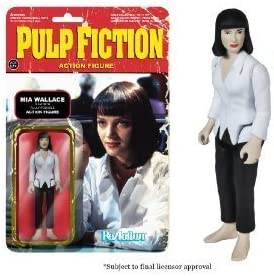 Pulp Fiction Funko Series 1 - MIA Wallace Reaction Figure by ...