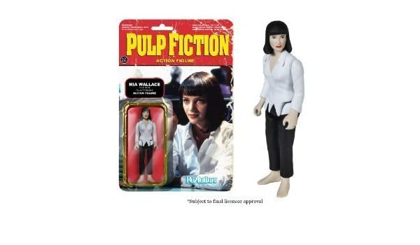 Funko Pulp Fiction Series 1 - Mia Wallace ReAction Figure by Pulp ...