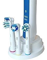 V3-ENGINEERING Tandenborstelhouder, compatibel met Oral-B voor 4 borstels, 3D-bedrukt, hoefijzer