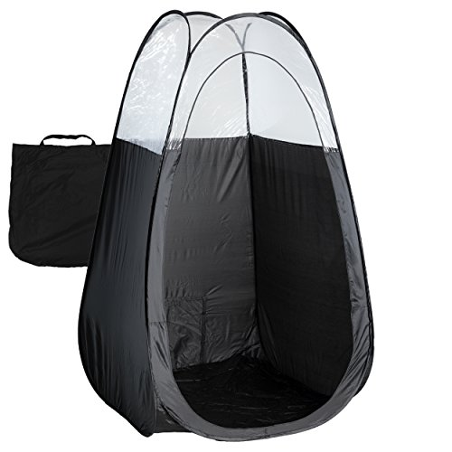 ECV Brands Black Spray Tan Tent with Carry Bag