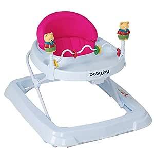 Andador Caminador con Juguetes Osito para Bebé con 4 Ruedas ...