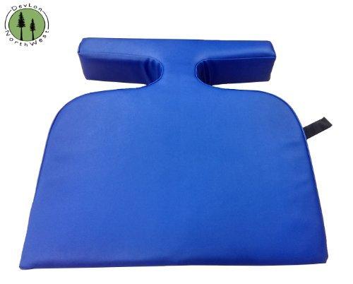 Palm Bolster Pillow - DevLon NorthWest T-Wedge Breast Bolster Cushion Feminine Pillow (Blue) by DevLon NorthWest
