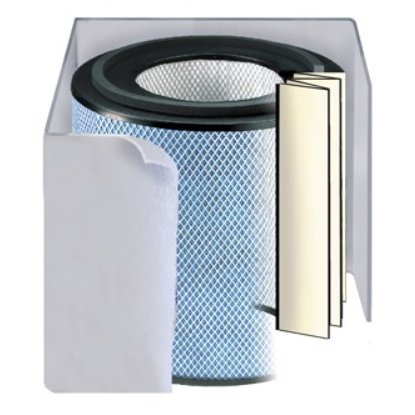 - Austin Air Allergy Machine (HEGA) Replacement Filter w/ Prefilter (Light-colored)