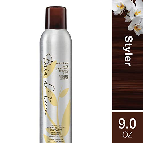 Bain de Terre Passion Flower Color Brightening , Hold Level 4, Paraben-Free, 9-Ounce