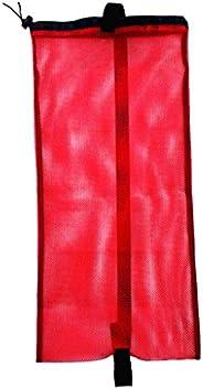 LEIPUPA Scuba Diving Gear Mesh Bag - Drawstring Closure - Adjustable Shoulder Strap