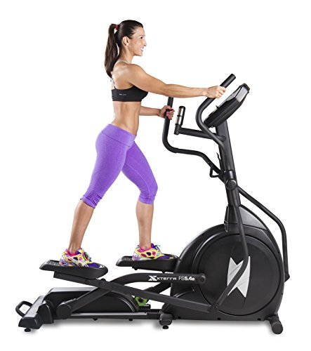 Xterra Fitness FS5.4e Elliptical Trainer, Black