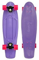 Penny Complete Skateboard, 22-Inch, Purple/Black/Pink