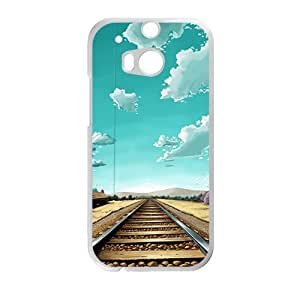 Personalized Creative Cell Phone Case For HTC M8,train track