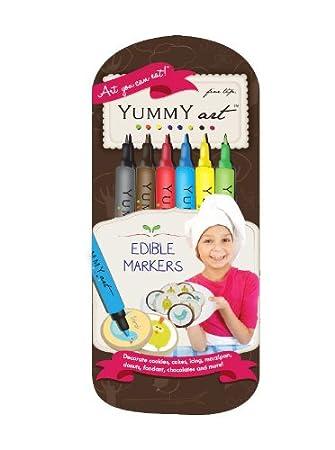 Marcador de tinta YummyInks TM. Marcador de tinta comestible ...