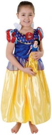Desconocido Disfraz de Blancanieves de Disney para niña: Amazon ...