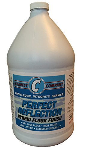 Perfect Reflection Wet Look Gloss High Solids Floor Finish 1 Gallon (Floor Slip Wax)